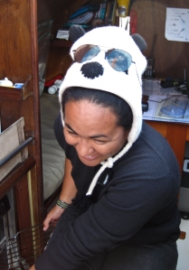 Fati our resident Panda