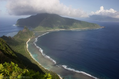 National Park of American Samoa ~ Ofu unit ~ Toaga beach and reef