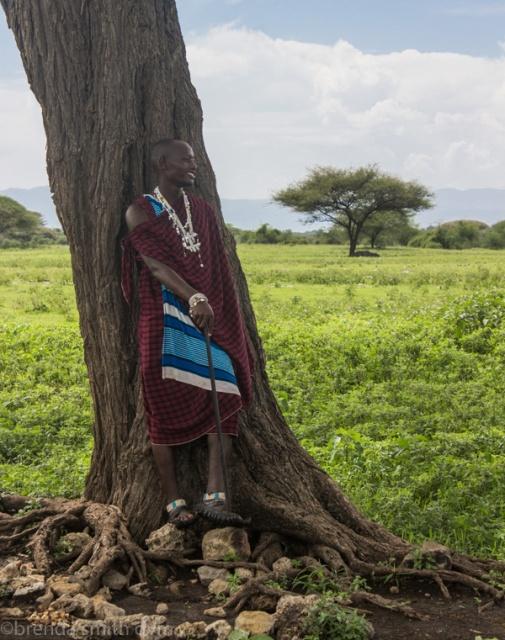 Maasai school teacher