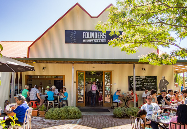 Nelson, Founders Historic Area Brewery
